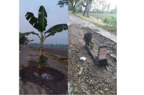 Viral Jalan Rusak Dipasangi Nisan di Pundungsari Klaten, Begini Tanggapan Kades
