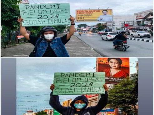 Bertebaran Baliho demi 2024, Menggugat Rasa Empati di Kala Pandemi