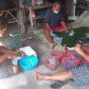 Gotong Royong Warga Bikin Nasi Bancakan untuk Masyarakat Terdampak Covid-19 di Delanggu Klaten