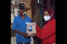 PSI Solo Bantu Salurkan 600 Paket Beras dari Gibran untuk Warga Terdampak Covid-19