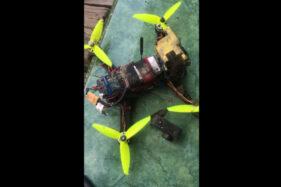 Petani Kebonarum Klaten Temukan Drone Jatuh di Sawah, Punya Siapa Ya?