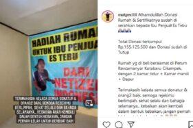 Bikin Terharu, Penjual Es Tebu Ini Dibelikan Rumah dari Hasil Donasi Netizen