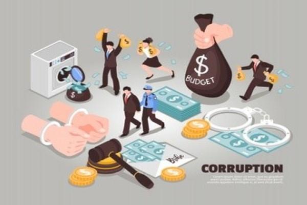 Ilustrasi tindak korupsi (freepik.com)