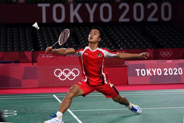 Selamat! Anthony Ginting Raih Medali Perunggu Olimpiade Tokyo 2020