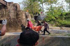 Mayat Bayi Misterius Ditemukan di Bawah Jembatan Gabahan Tasikmadu Karanganyar