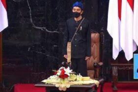 Jokowi Pakai Baju Adat Baduy, Ma'ruf Amin Kenakan Busana Mandar di Sidang Tahunan MPR