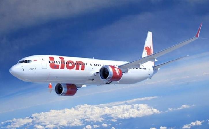 Ilustrasi pesawat Lion Air. (lionair.co.id)