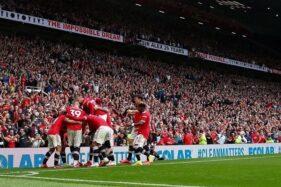 Hasil Liga Inggris Tadi Malam: Awal Meyakinkan Man United, Chelsea, dan Liverpool