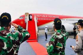 Kali Pertama, Jokowi Gunakan Pesawat Kepresidenan Seusai Dicat Merah
