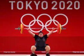 Posisi Kelima Angkat Besi +87 Kg Olimpiade Tokyo 2020, Nurul Akmal Gagal Bawa Pulang Medali