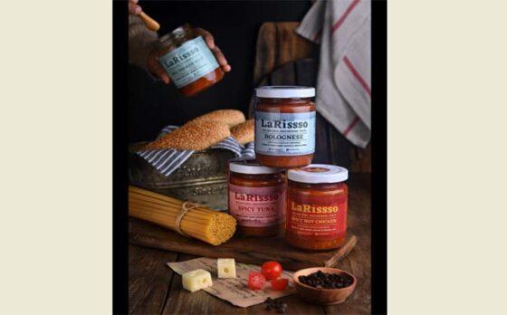 Produk saus pasta artisan Indonesia, LaRissso.