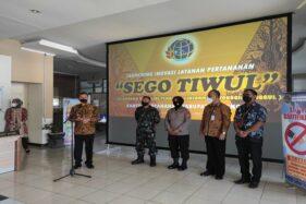 Kantor Pertanahan Wonogiri Launching Sego Tiwul, Ini Manfaatnya