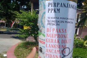 Selebaran Dipaksa Sehat di Negara Sakit Marak di Klaten, Polda Jateng: Bukan Provokasi, Tapi Kritik