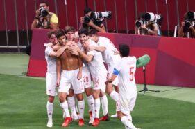 Kalahkan Jepang, Spanyol Jumpa Brasil di Final Sepak Bola Olimpiade Tokyo 2020