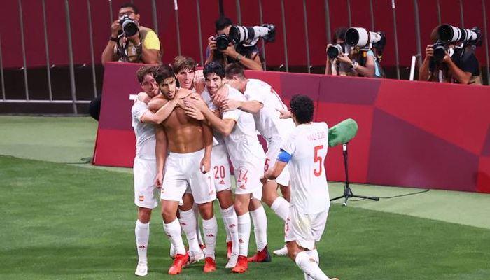 Marco Asensio cetak gol kemenangan Timnas Spanyol U-23 ke gawang Jepang di semifinal Olimpiade Tokyo 2020 (Reuters)