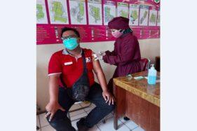 Nakes di Sukoharjo Mulai Disuntik Vaksin Dosis Ketiga Jenis Moderna