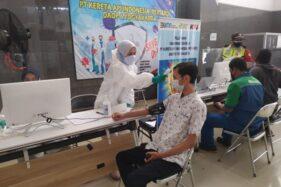 80% Pegawai KAI Daops VI Yogyakarta Sudah Vaksin