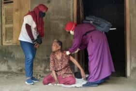 13 Orang dengan Gangguan Jiwa Jadi Sasaran Vaksinasi Covid-19 di Jatinom Klaten