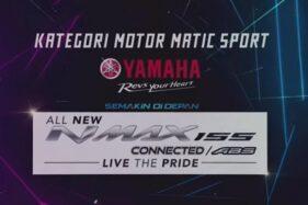 Mantap! Yamaha NMAX Jadi Pemenang di SBBI Award 2021 Kategori Motor Matic Sport