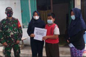 Bantuan Mengalir untuk Bocah Yatim Piatu Akibat Covid-19 di Klaten