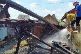 Lupa Mematikan Kompor, Kios di Pasar Gatak Grobogan Ludes Terbakar