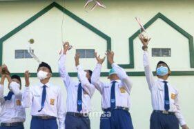 Jos! 14 Guru dan Siswa SMP Naungan Muhammadiyah Sragen Sabet Medali NSC 2021