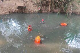 Cari Ikan Bocah Ponorogo Tenggelam di Sungai Urung-Urung