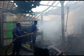 Ditinggal ke Sawah, Rumah di Grobogan Nyaris Ludes Terbakar
