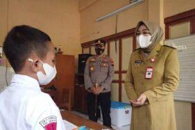 Polres Kawal Pelaksanaan PTM Terbatas di Grobogan, Ini Tujuannya