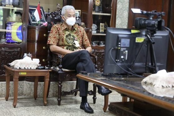 Ganjar Pranowo: Soal Capres Urusan Bu Mega