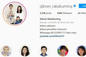 Akun Terverifikasi Instagram, Baru Punya Gibran di Antara Kepala Daerah Soloraya
