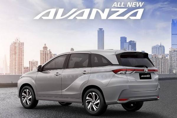 Render Toyota Avanza terbaru. (Gambar: Instagram @bagasatriakbar)