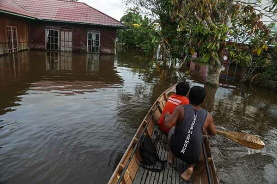 Lebih dari Dua Pekan Banjir, Ribuan Rumah di Wilayah Kabupaten Katingan Kalteng Terdampak