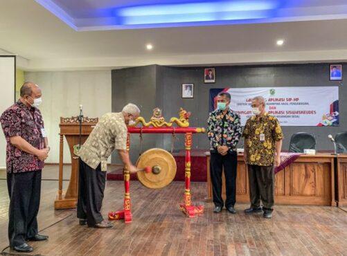 Inspektorat Banjarnegara Luncurkan SIP-HP dan Bimtek Siswaskeudes