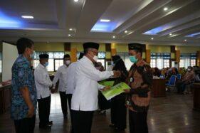 Baznas Banjarnegara Kembali Serahkan Bantuan untuk Masyarakat Rp773 Juta