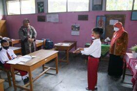 PTM Dimulai, Bupati Sragen Ingatkan Sekolah Konsisten Terapkan Prokes