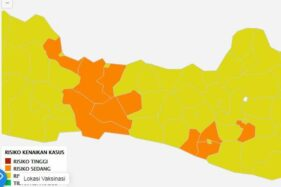 Semua Daerah di Soloraya Sudah Zona Kuning, Kecuali Satu Ini