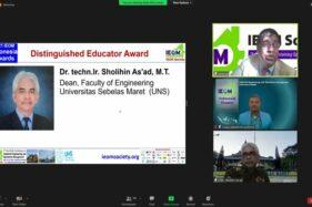 Closing Ceremony of 2nd AP IEOM 2021: IEOM Society Awards Universitas Sebelas Maret