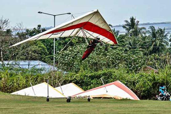Pertandingan Gantole PON XX Papua, Sumbar Unggul Ketepatan Mendarat