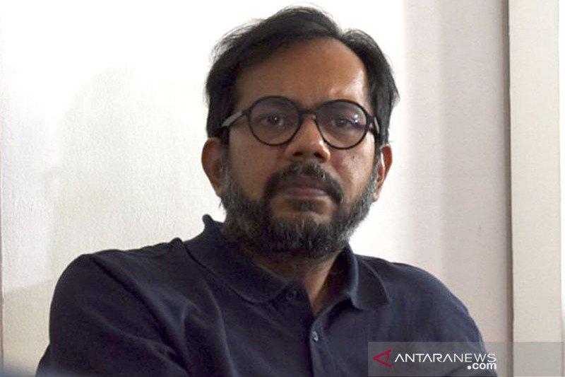 Direktur Lokataru, Haris Azhar. (Antara)