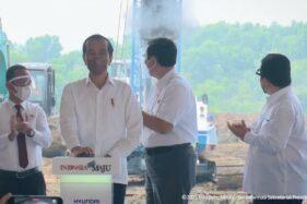 Presiden Jokowi: Pabrik Baterai Mobil Listrik di Karawang Satu-satunya di Asia Tenggara