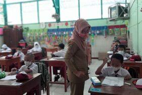 PTM di Boyolali Lancar, Prokes di Luar Sekolah Harus Diperhatikan