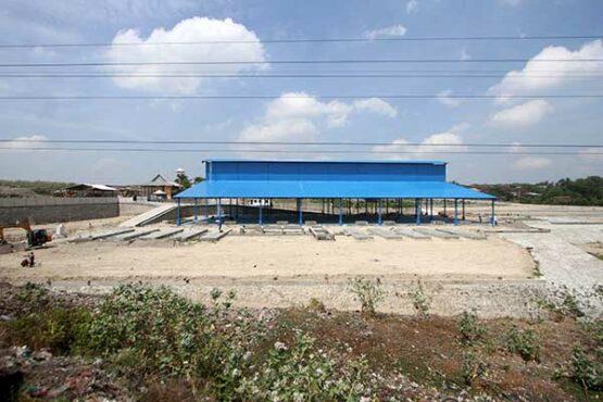Progres Pembangunan PLTSa Putri Cempo Solo, Bangunan Utama Sudah Berdiri