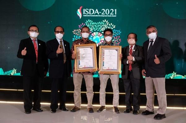Semen Gresik Sabet Dua Penghargaan Predikat Gold dalam ISDA Award 2021