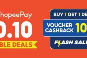 ShopeePay Hadirkan Keuntungan Berlipat di 10.10 ShopeePay Double Deals