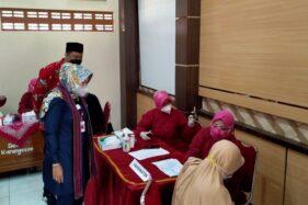 Kodim Klaten dan Stikes Muhammadiyah Klaten Gelar Vaksinasi, Sasarannya 500 Mahasiswa