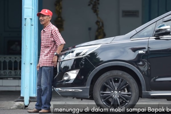 Suliadi, mantan Sopir Presiden Joko Widodo. (Gambar: Youtube)