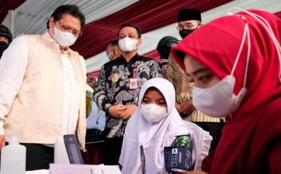 118,36 Juta Dosis Telah Disuntikkan, Pemerintah Terus Upayakan Akselerasi Vaksinasi