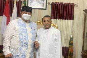 Silaturahmi ke Kediaman Habib Luthfi Pekalongan, Airlangga: Beliau Orang Tua Kita