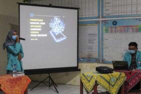 Dorong Usaha Desa Mayang Sukoharjo, Tim KKN 220 UNS Bikin Aplikasi Android U-May